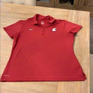 Coug golf shirt